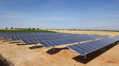 Bombeo solar 200 kw con seguimiento solar Calera y Chozas
